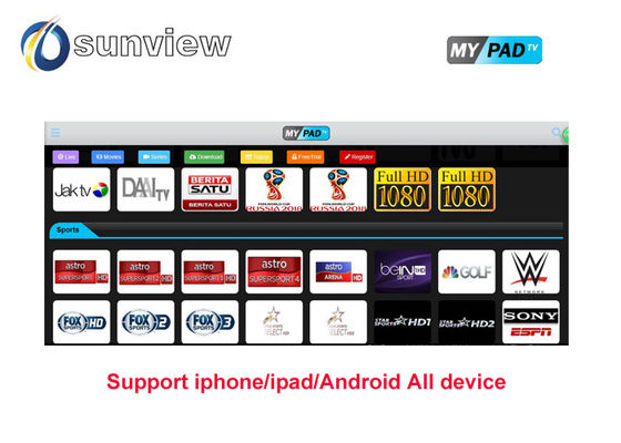 China 1/3/6/12 Monate Mypadtv-apk Iptv kanalisiert Subskriptions-Tageskostenlose testversion fournisseur